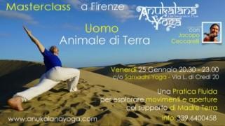 Masterclass di Anukalana Yoga a Firenze