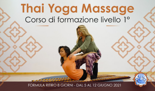 Thai Yoga Massage Livello 1°